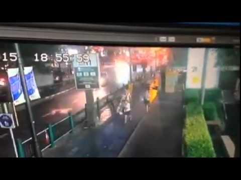 ภาพจากกล้องวงจรปิดระเบิดแยกพระพรหม