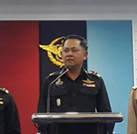 พล.ต.ณฐพร บุญงาม โฆษกกองทัพไทย