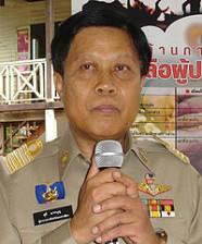 นายสุธี มากบุญ รัฐมนตรีช่วยว่าการกระทรวงมหาดไทย