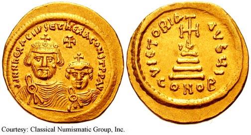 Heraclius-coin